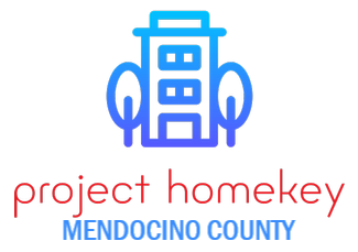 Logo for Project Homekey Mendocino
